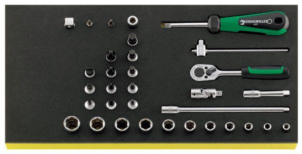 【メーカー在庫あり】 エスコ ESCO 1/4インチsq ソケットレンチセット EA612TA-12 HD店