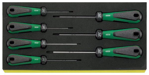 【メーカー在庫あり】 エスコ ESCO 7本組 Torx ドライバーセット(イジリ止付) EA612TA-35 HD店