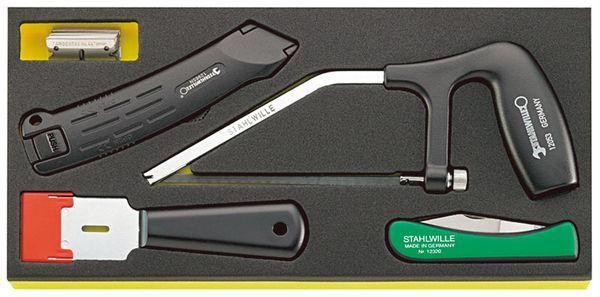 【メーカー在庫あり】 エスコ ESCO 5個組 カッターセット EA612TA-47 HD店