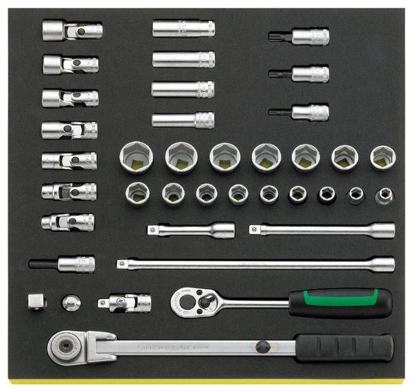 【メーカー在庫あり】 エスコ ESCO 3/8インチsq ソケットレンチセット EA612TB-4 HD店