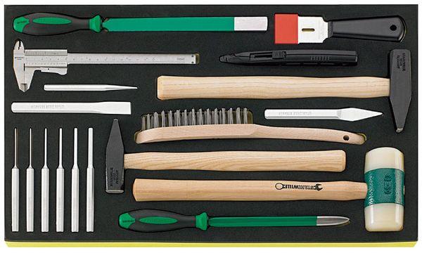 ESCO 【メーカー在庫あり】 EA612TC-8 エスコ 工具セット HD店 18個組