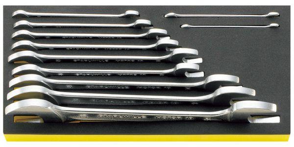 【メーカー在庫あり】 エスコ ESCO 11本組 両口スパナセット EA612TG-1 HD店