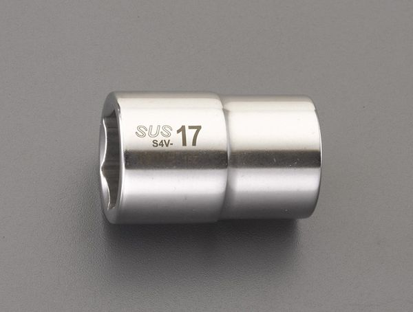 【メーカー在庫あり】 エスコ ESCO 1/2インチsq x30mm ソケット(ステンレス製) EA618SC-30 HD店