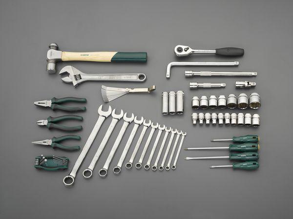 【メーカー在庫あり】 エスコ ESCO 69個組 工具セット EA689SE-2 HD店