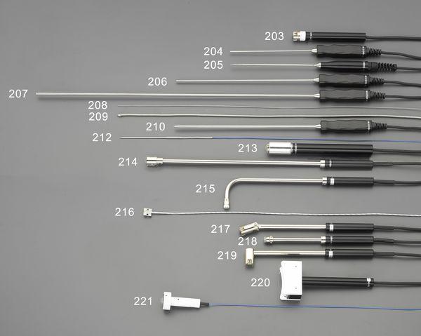 【メーカー在庫あり】 エスコ ESCO EA701SA-10、20用 静止表面センサー(中温・ロング EA701SA-214 HD店