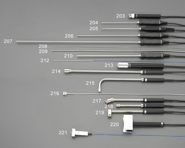 【メーカー在庫あり】 エスコ ESCO EA701SA-10、20用 静止表面L型センサー(中温) EA701SA-219 HD店