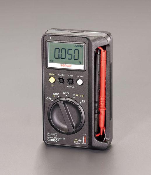 【メーカー在庫あり】 エスコ ESCO デジタルマルチメーター EA707D-18 HD店