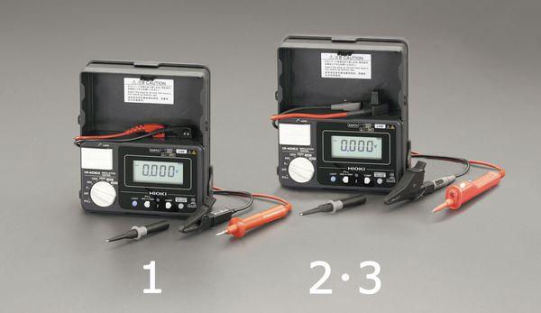 エスコ ESCO 絶縁抵抗計(太陽光発電システム用) EA709BK-3 HD店