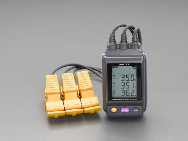 【メーカー在庫あり】 エスコ ESCO 検相器(電圧計付) EA711-11 HD店