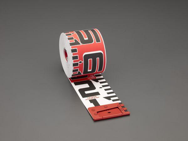 【メーカー在庫あり】 エスコ ESCO 100mmx10m 測量テープ EA720MC-110 HD店