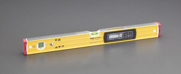 【メーカー在庫あり】 エスコ ESCO 610mm 水平器(デジタル/マグネット付) EA721KD-6 HD店