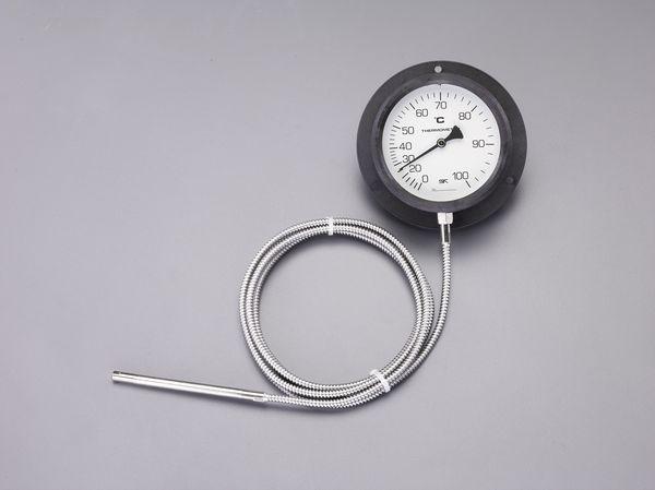 【メーカー在庫あり】 エスコ ESCO 0- 80℃/φ110mm 隔測温度計 EA727-21 HD店