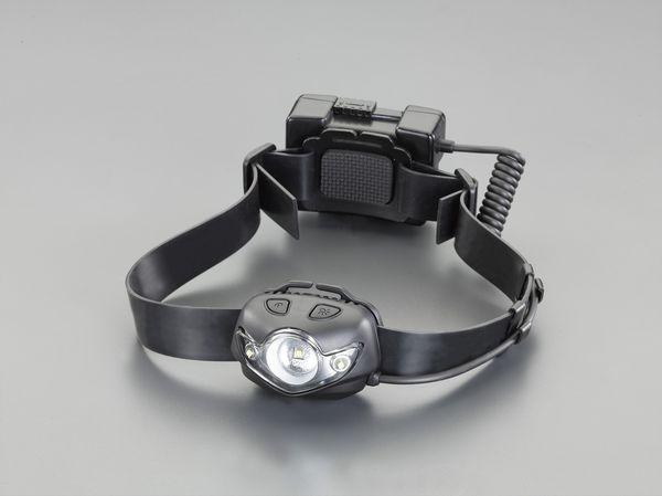 【メーカー在庫あり】 エスコ ESCO 充電式 ヘッドライト/LED EA758RX-15 HD店