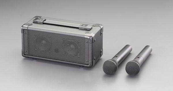 エスコ ESCO ワイヤレスマイク付 拡声器スピーカー EA763CJ-4 HD店