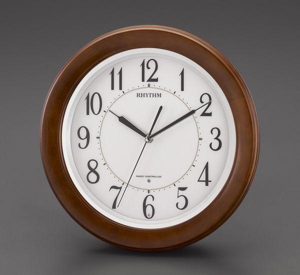 【メーカー在庫あり】 エスコ ESCO φ330mm 電波 掛 時 計 EA798CB-83 HD店
