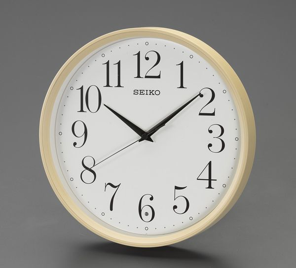 【メーカー在庫あり】 エスコ ESCO φ280mm 電波 掛時計 EA798CC-117 HD店
