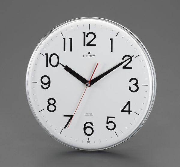 【メーカー在庫あり】 エスコ ESCO φ294mm 電波 掛時計 EA798CC-124 HD店