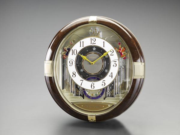 【メーカー在庫あり】 エスコ ESCO 426x413x125mm からくり掛時計 EA798CC-83 HD店