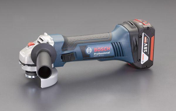 エスコ 【メーカー在庫あり】 HD店 EA809BX-12A ESCO 100mm/18.0V ディスクグラインダー(充電式)