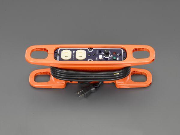 【メーカー在庫あり】 エスコ ESCO AC125V/15A/ 3m コードリール(電流コントロール付 EA815GV-41 HD店