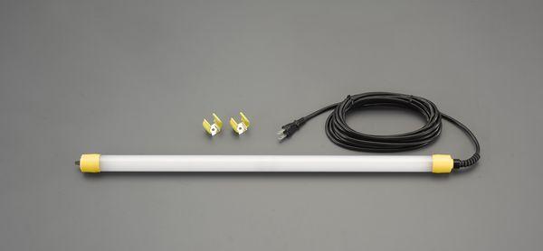 エスコ ESCO AC100V/ 8W 作業灯/LED(固定ホルダー2個付) EA815LD-701 HD店