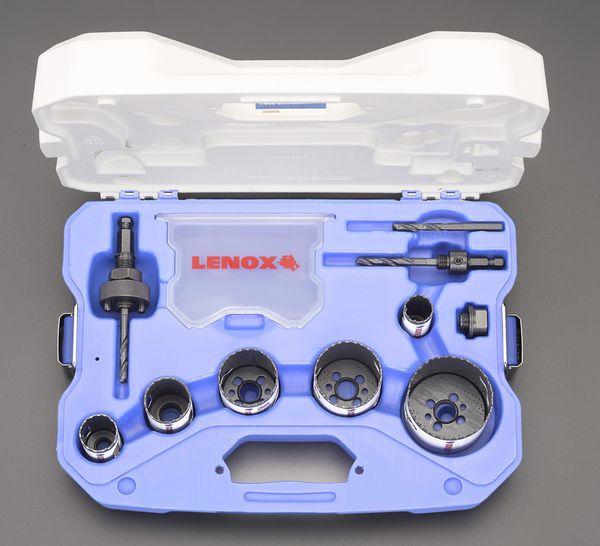 【メーカー在庫あり】 エスコ ESCO 電気設備用 ホールソーセット LENOX EA823LE-1 HD店