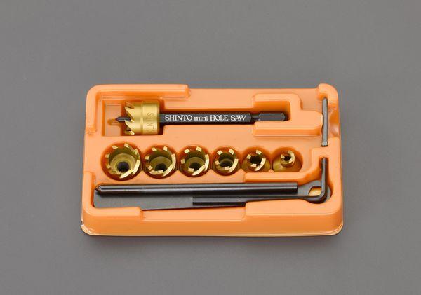 【メーカー在庫あり】 エスコ ESCO 6-16mm ホールソーセット(六角軸) EA824HG HD店