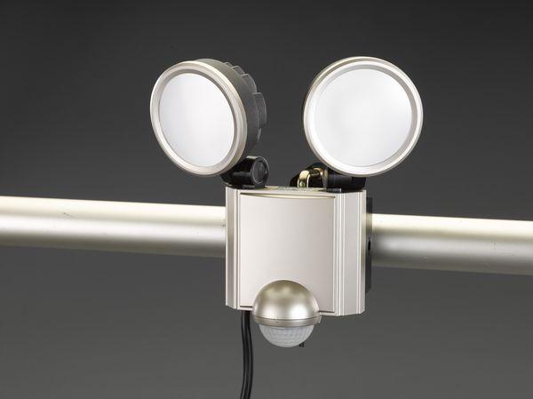 【メーカー在庫あり】 エスコ ESCO AC100V/ 20W LEDセンサーライト EA864CB-187 HD店