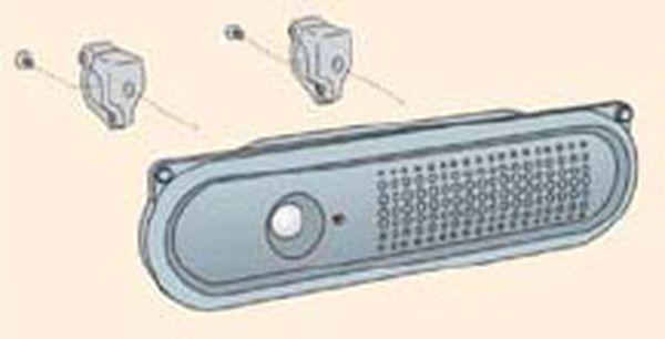 【メーカー在庫あり】 エスコ ESCO 音声案内機(赤外線センサー/単管取付用) EA864CG-3 HD店