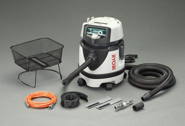 【メーカー在庫あり】 エスコ ESCO 1150W/12L 乾湿両用掃除機 EA899RS-11 HD店