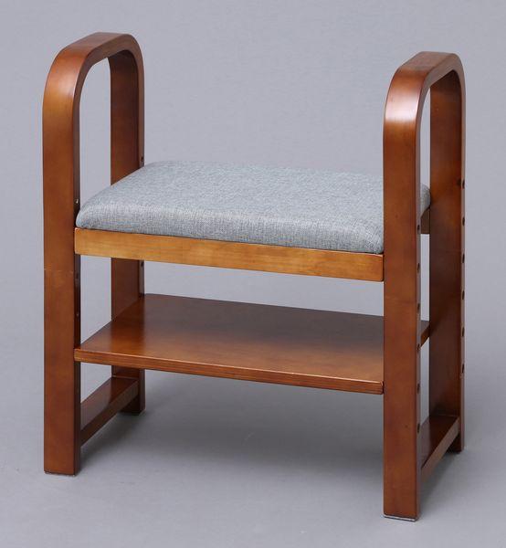 【メーカー在庫あり】 エスコ ESCO 550x290x600mm 玄関用椅子 EA903AL-28 HD店