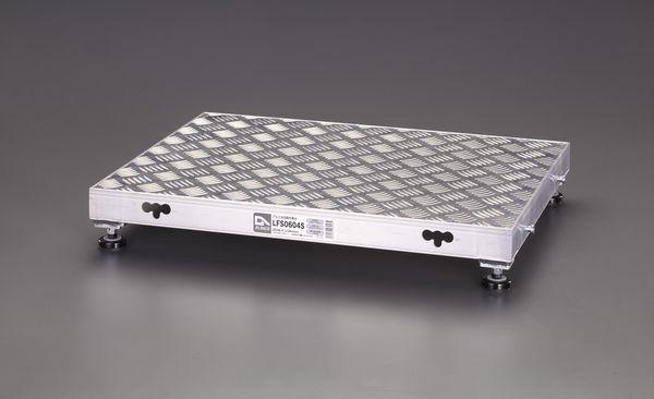 【メーカー在庫あり】 エスコ ESCO 450x450x120mm 低床作業台(伸縮調整脚) EA903BT-1 HD店