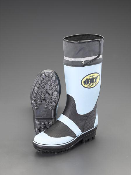 【メーカー在庫あり】 エスコ ESCO 25.0cm 長靴(スパイク底) EA910MB-25 HD店