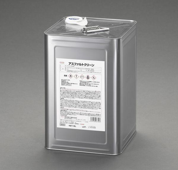 【メーカー在庫あり】 エスコ ESCO 18L アスファルト用洗浄剤 EA922AJ-28 HD店