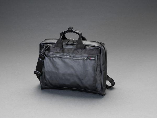 【メーカー在庫あり】 エスコ ESCO 420x310x100mm ビジネスバッグ(防水素材) EA927BE-11A HD店