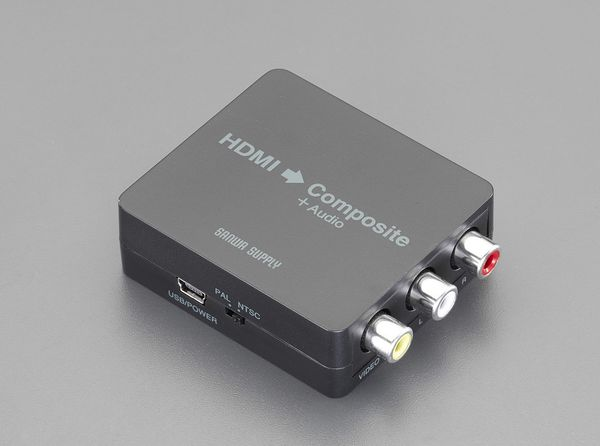 【メーカー在庫あり】 エスコ ESCO 60x55x20mm 変換コンバーター EA940P-93 HD店
