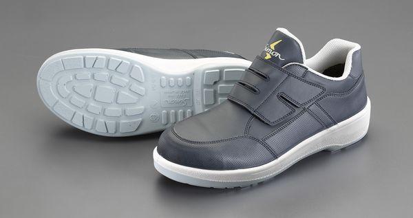【メーカー在庫あり】 エスコ ESCO 27.0cm 安全靴(静電/紺色) EA998WA-27A HD店