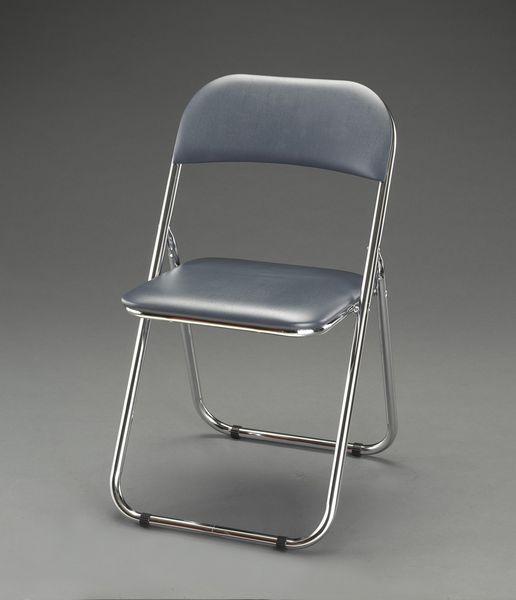 【メーカー在庫あり】 エスコ ESCO 455x495x785mm 折畳み椅子 EA956XE-8 HD店