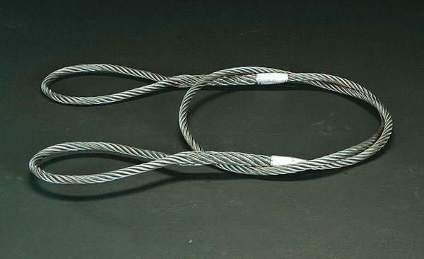 【メーカー在庫あり】 エスコ ESCO 26mmx6.0m ワイヤースリング EA981WL-18 HD店