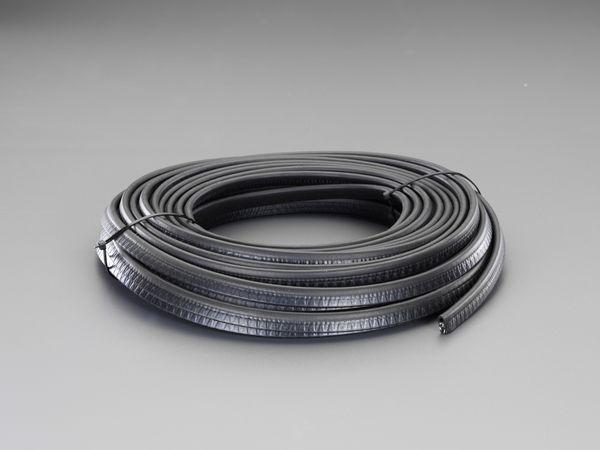 【メーカー在庫あり】 エスコ ESCO 1 - 3 mm/20m ガスケット(はさみ込み型) EA997XW-220A HD店