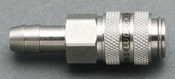 【メーカー在庫あり】 6mm ウレタンホースカップリング(ステンレス製 000012287690 HD店