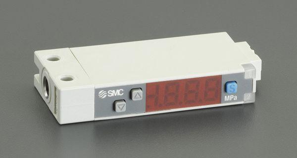 【メーカー在庫あり】 M5/-0.1-1.0MPa 圧力スイッチ(デジタル 000012296372 HD店