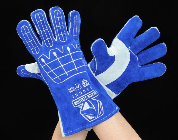 【メーカー在庫あり】 [L] 溶接用革手袋(耐切創・耐衝 000012288379 HD店