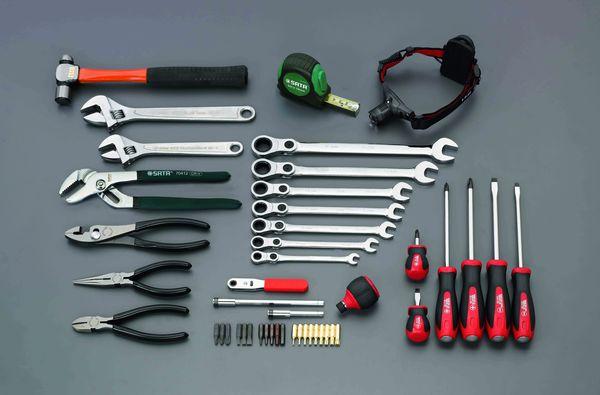 【メーカー在庫あり】 [46個組] 工具セット 000012297964 HD店