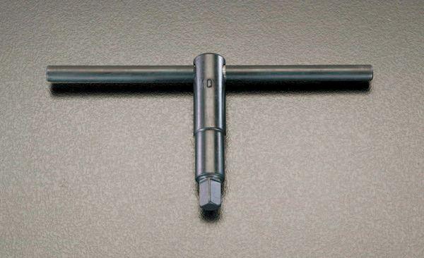 【メーカー在庫あり】 22mm 四角チャックキーT型ハンドル 000012289625 HD店