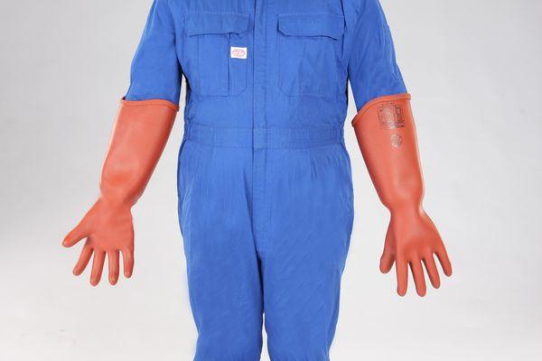 【メーカー在庫あり】 [LL] 高圧用絶縁手袋(胴太型/700 000012290469 HD店