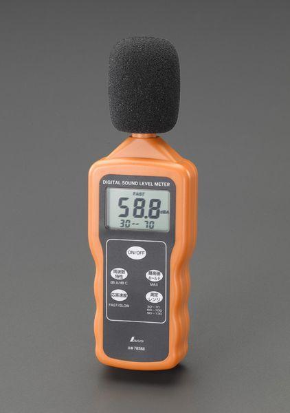 【メーカー在庫あり】 デジタル騒音計 000012291117 HD店