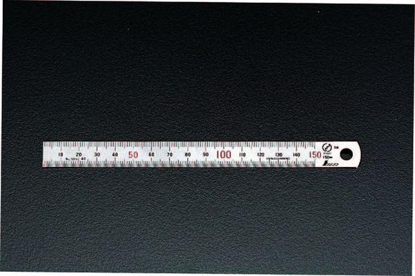 【メーカー在庫あり】 1500mm シルバー直尺 000012291197 HD店
