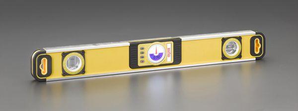 【メーカー在庫あり】 600x33x72.5mm デジタルアルミレベル 000012296881 HD店