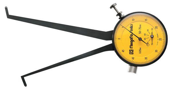 【メーカー在庫あり】 50-75mm ダイヤルキャリパゲージ(内測 000012291296 HD店